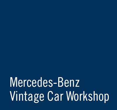 SCHAD Originale Mercedes-Benz Vintage Car Workshop