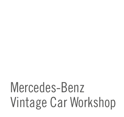 SCHAD Originale Mercedes-Benz Vintage Car Workshop