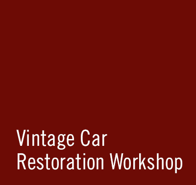 SCHAD Originale Vintage Car Restoration Workshop