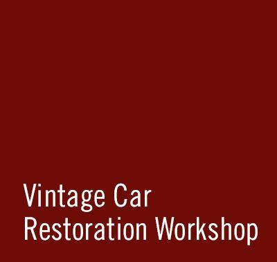 SCHAD Originale Vintage Car Restoration Workshop